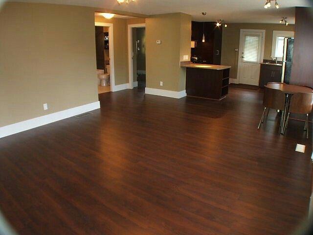 Hardwood Floors, Basement
