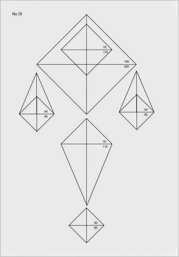設計図を作る 今回作るのはこれ! 単純ですが なかなか綺麗です! 制作スタート 材料を準備する まずは大きな三角形から制作 短いモールはつなぐ パーツが揃った! ...