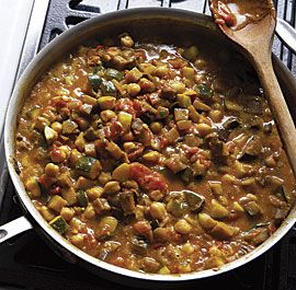 Make this! Curried Chickpea and Summer Vegetable Stew Transform fresh ...