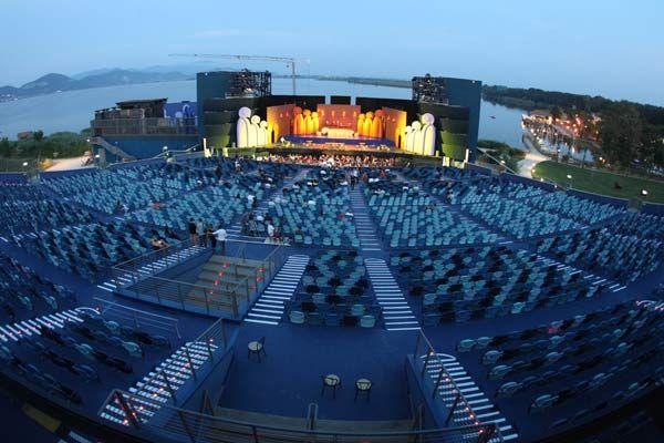 Arena de Verona, Italia. concierto de Andrea Boccelli