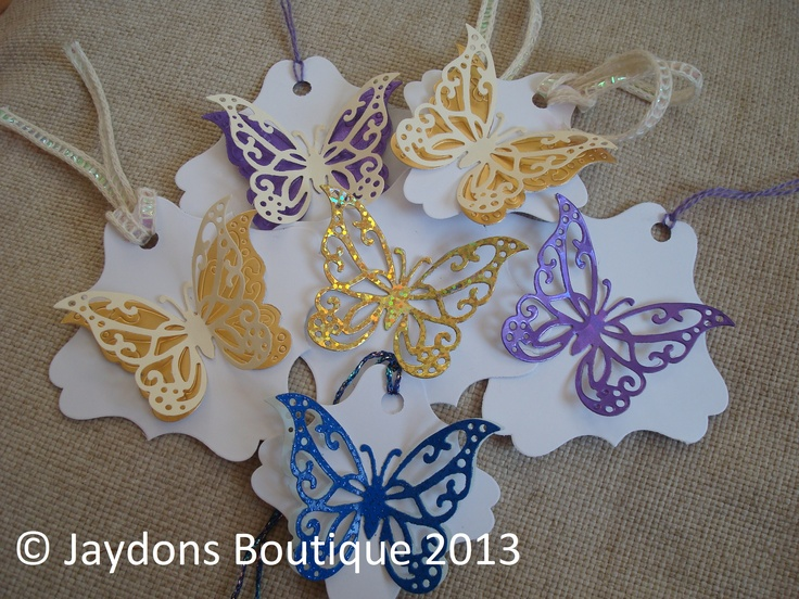 Beautiful Favour / Gift Tags x