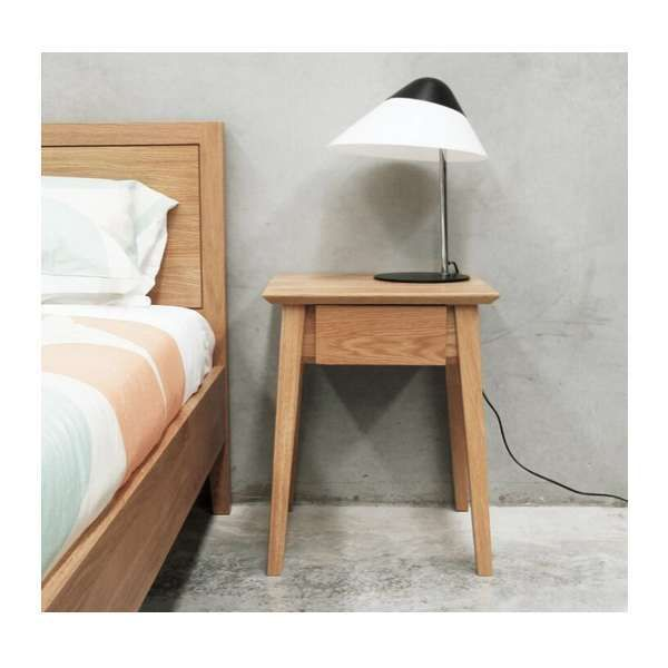 Norway Bedside Table with Drawer - Vavoom Emporium