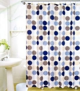 The Polka Dot Shower Curtain Will Add A Touch Of Pizzazz To Any Bathroom Dots Are Fun And Popular These Stylish Curtains