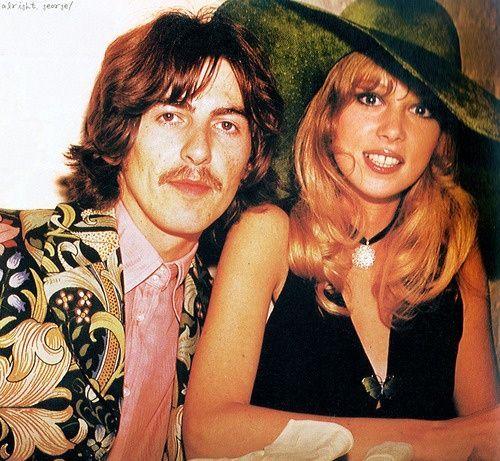 Beatles Girlfriends | George and Pattie Harrison