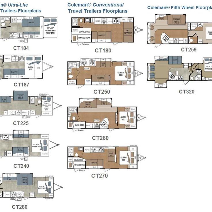 Fleetwood Rv Travel Trailer Floor Plans