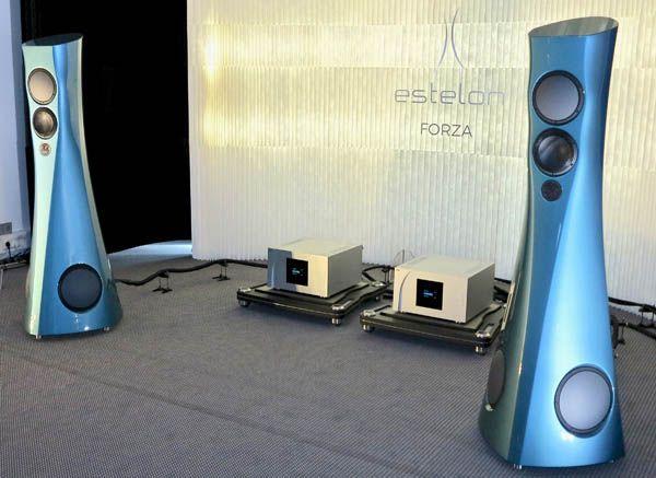 Estelon Forza Loudspeakers Kronos Pro Turntable Bassocontinuo Racks Kubala Sosna Cabling Audiophile Listening Room Channel Classics Listening Room