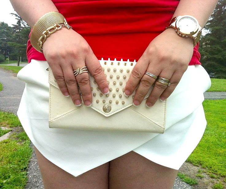Rebecca Minkoff studded wallet