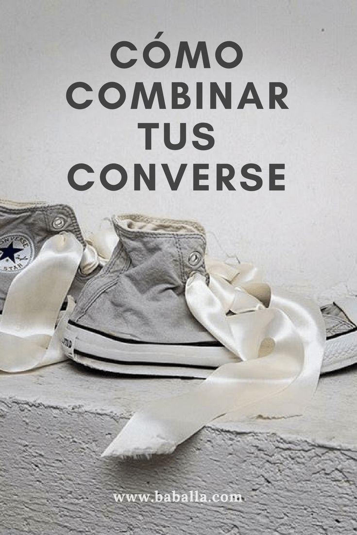 Ideas de para customizar tus  converse altas y bajas con lazos de raso. Converse blancas #converse