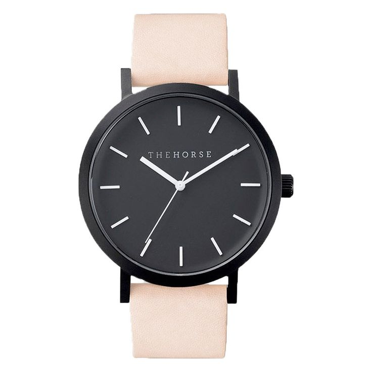 The Horse Watch - Nude/Matte Black