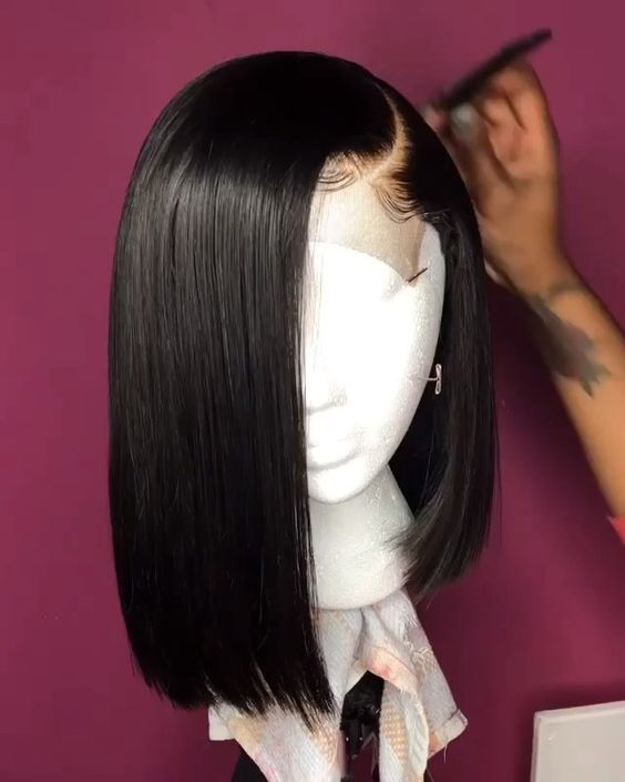 12″ Bob Wigs For African American Women The Same A…