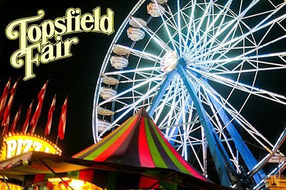 Oct 4th is opening day for the Topsfield Fair, one of the longest running annual fairs in the United States.