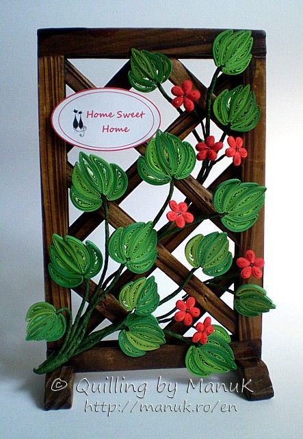 wonderful quilling by Manuk