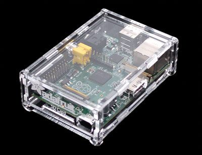 Getting this case for Ryan's Raspberry Pi for Christmas. His mom bought the computer and I will buy the case. Yay for teamwork between your boyfriend's mom and you to get him the perfect gift! (: