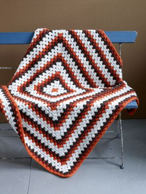 Image of Grand Granny Square Afghan
