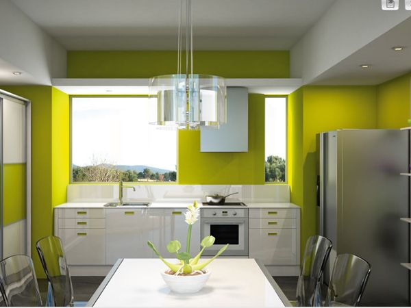 http://www.arredamento.it/images/14470/b/parete-verde-cucina.jpg  Il colore ...