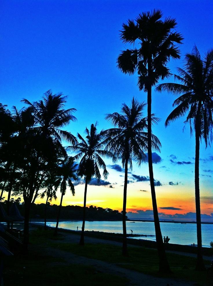 #Sunset view at Lasiana #Beach #Kupang #NTT #Indonesia #Travel