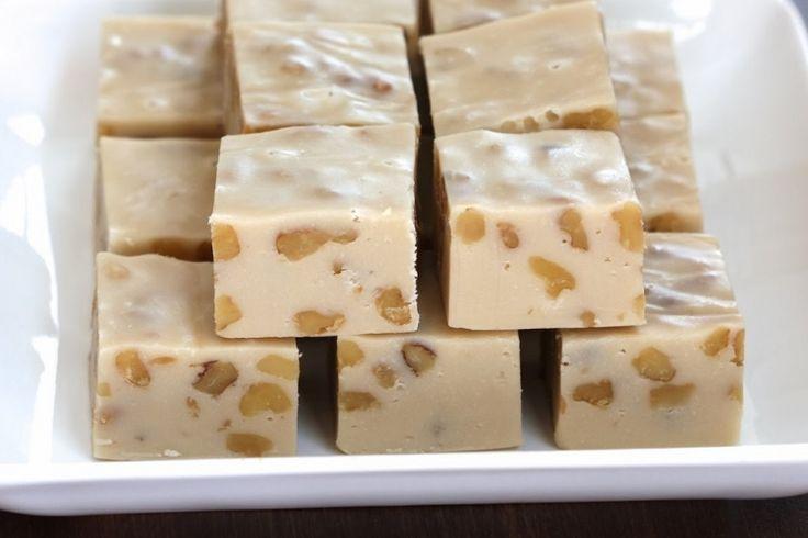 Un fudge érable et noix, gâtez-vous en toute simplicité !