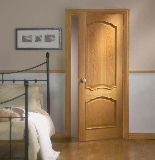 Elegance S Louis Pre-Finished Internal Door #prefinisheddoor & Kershaw Doors \u0026 Huntingdon 10 Light Oak Glazed Internal Door\