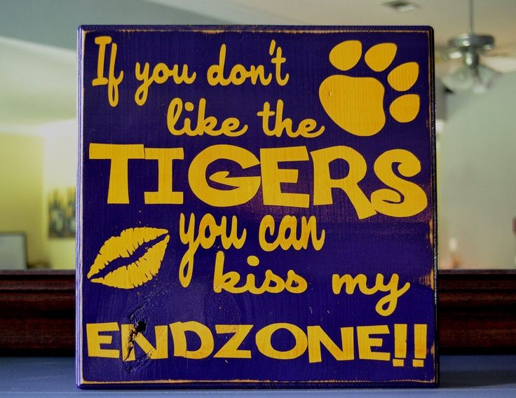 Man Cave Football Signs : Best images about lsu football season