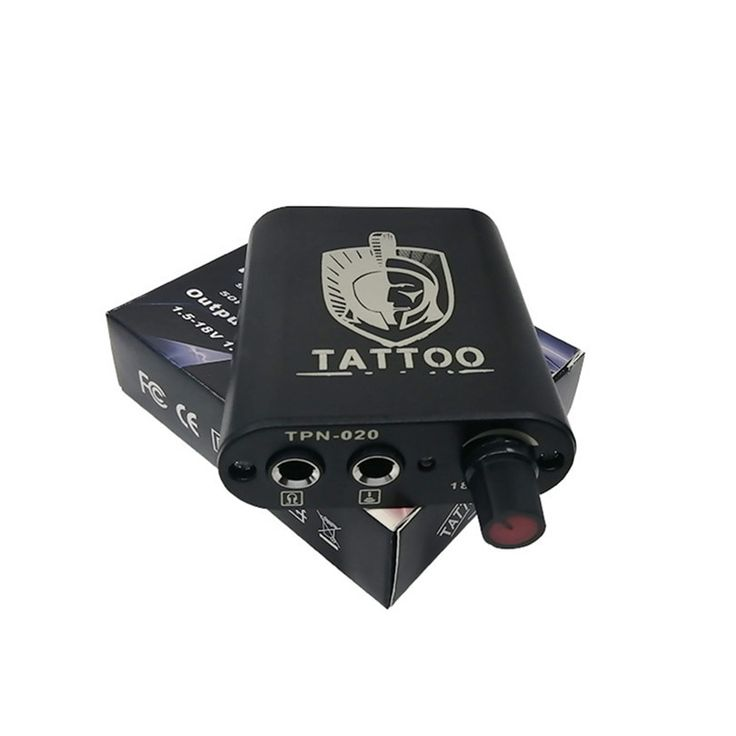 Professional 1pcs mini tattoo power supply critical cord