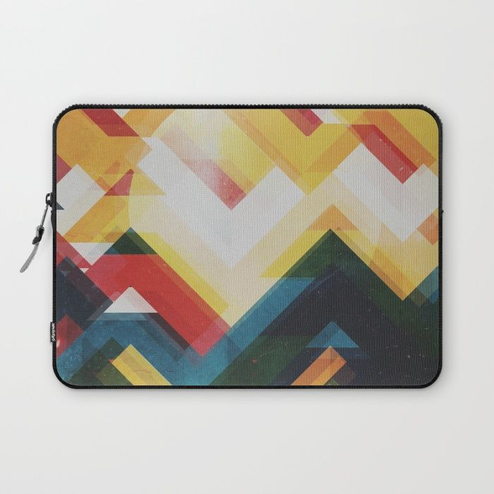 Mountain of energy Laptop Sleeve by HappyMelvin | Society6