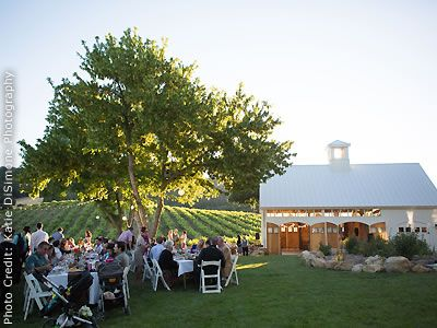 Hammersky Vineyards And Estate Winery Paso Robles Farmhouse Weddings Central Coast Wine Country Reception Venues 93446