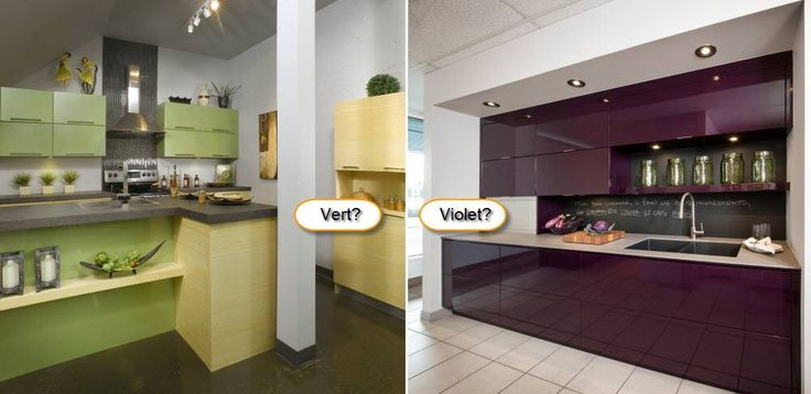 Si vous osiez une cuisine de couleur percutante, ce serait laquelle?
