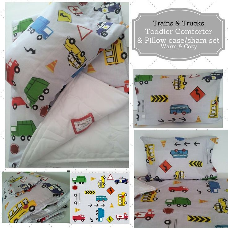 New toddler comforter sets are in the shop❣ Your little guy will be comfy cozy in our fun cars and trucks year round comforter & matching pillow case/sham.  Perfect for transitioning to his big boy bed.