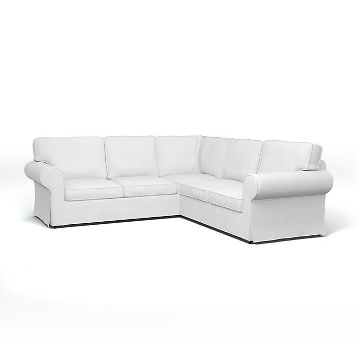Ektorp Corner Sofa Cover With Piping Bemz In 2019 Sofa Covers Corner Sofa Covers Corner Sofa