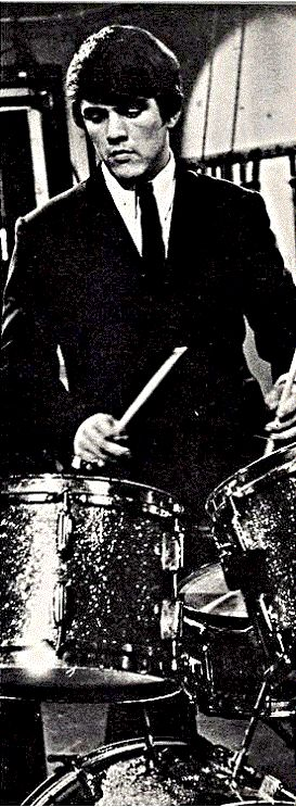 Dave Clark's English Rogers drum kit - a pictorial history