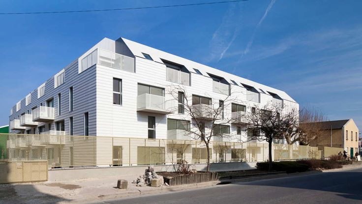 Gallery of 34 Social Housing Units In Bondy / Atelier Du Pont - 10