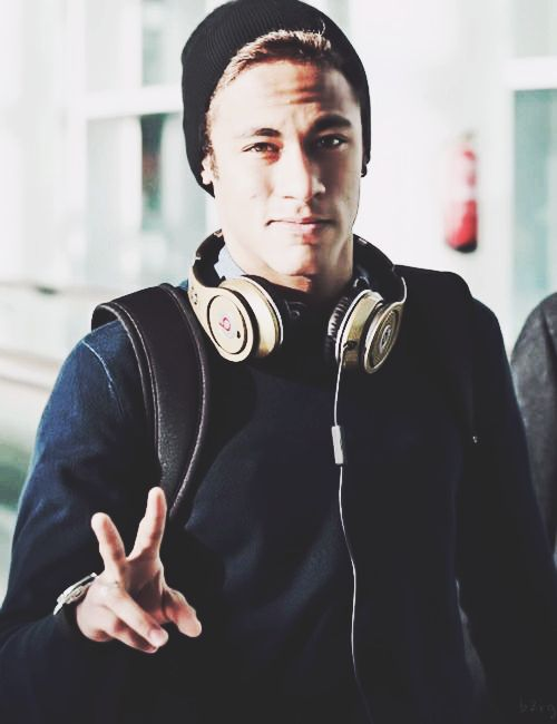 He must have a million pairs of Beats. Someone should start counting their appearances...