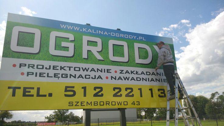 Tablice i szyldy reklamowe. Agencja reklamowa b6 wwww.b-6.pl konin slupca września