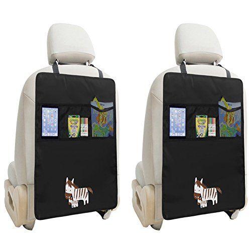 Holen Sie Sich Jetzt 2 Stück Rücksitz Organizer Mit 2 Großen Taschen, Auto  Rückenlehnenschutz Für Kinder Mit IPad Tablet Halter, Autositz Schutzmatte  ...