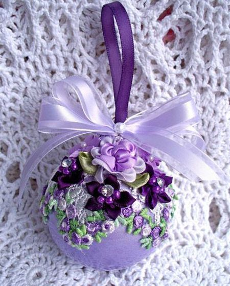 25+ Best Ideas About Purple Christmas Decorations On