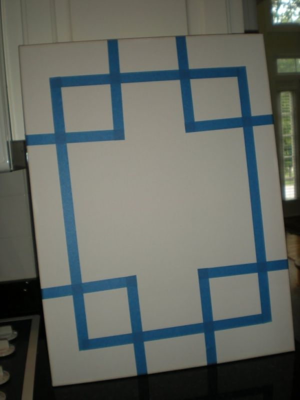 56 best diy canvas ideas images on pinterest canvas for Diy blank canvas