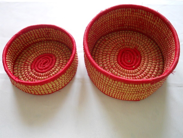 Basket Weaving With Raffia : Best images about canastos on paper weaving