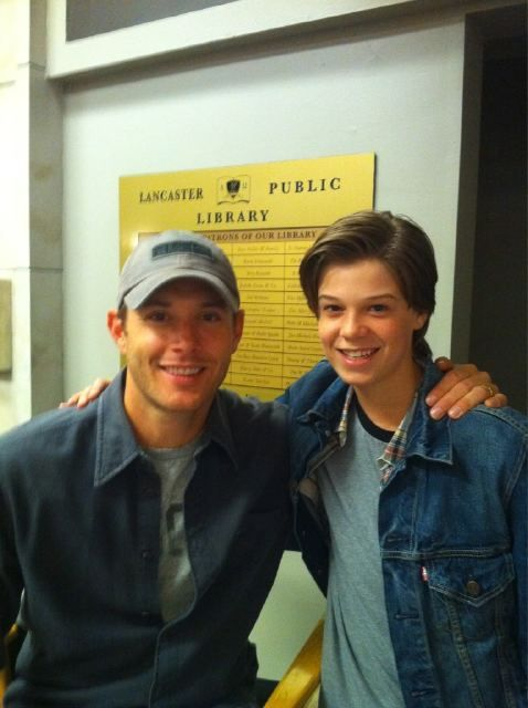 Dean and young Sammy  (Jensen Ackles and Colin Ford)