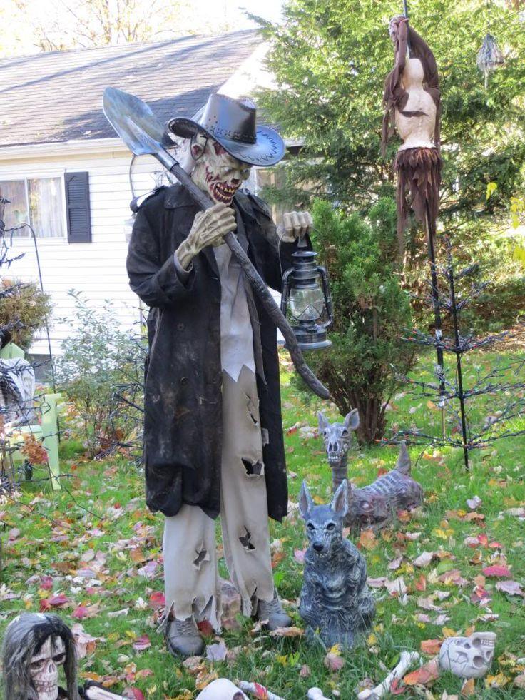 copchicks halloween 2013 hauntforum - Skeletons For Halloween Decorations