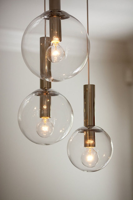 lighting style. love these globe lights lighting home style s