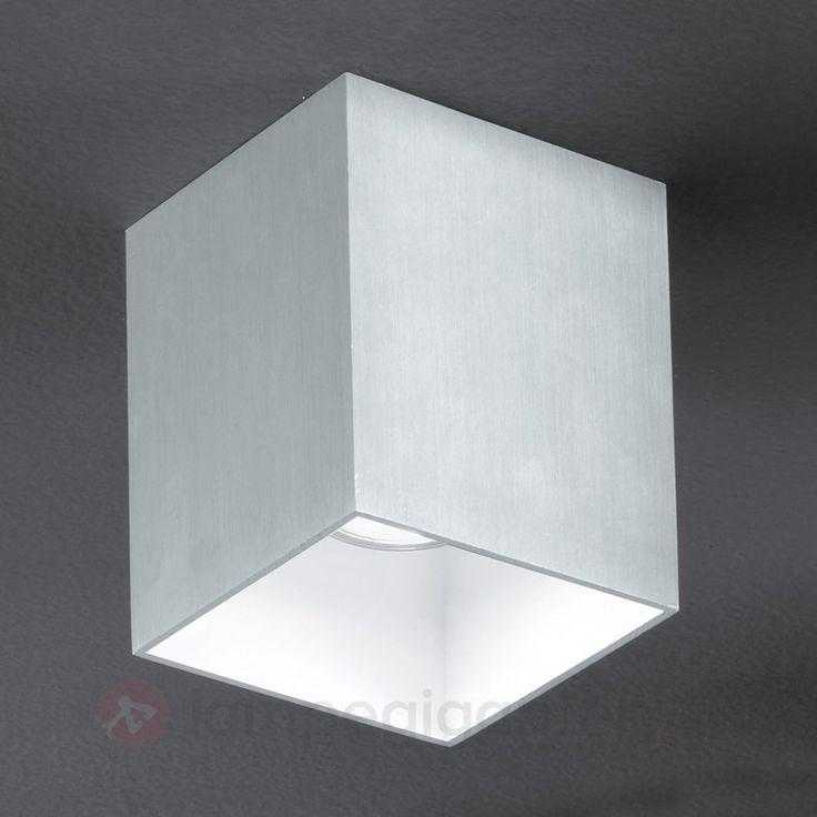 Elegant Bantry taklampe, kvadratisk