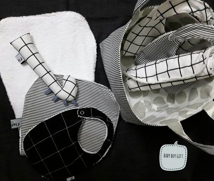 Baby boy monochrome gift from @flutterbyclt