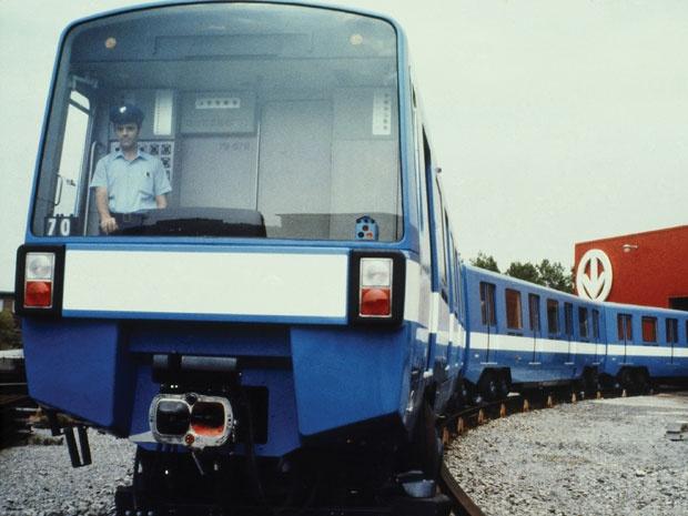 métro de Montréal, vers 1976