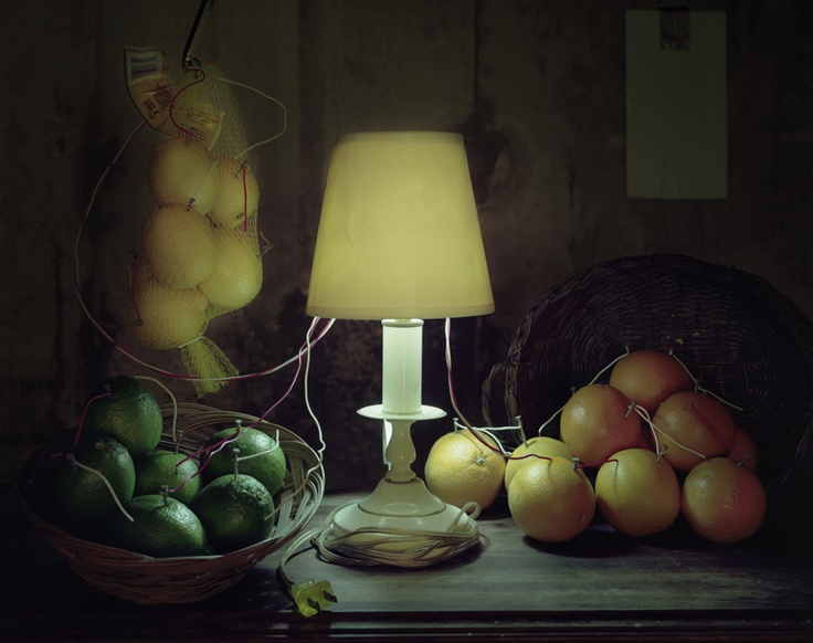 citrus fruit battery, Caleb Charland