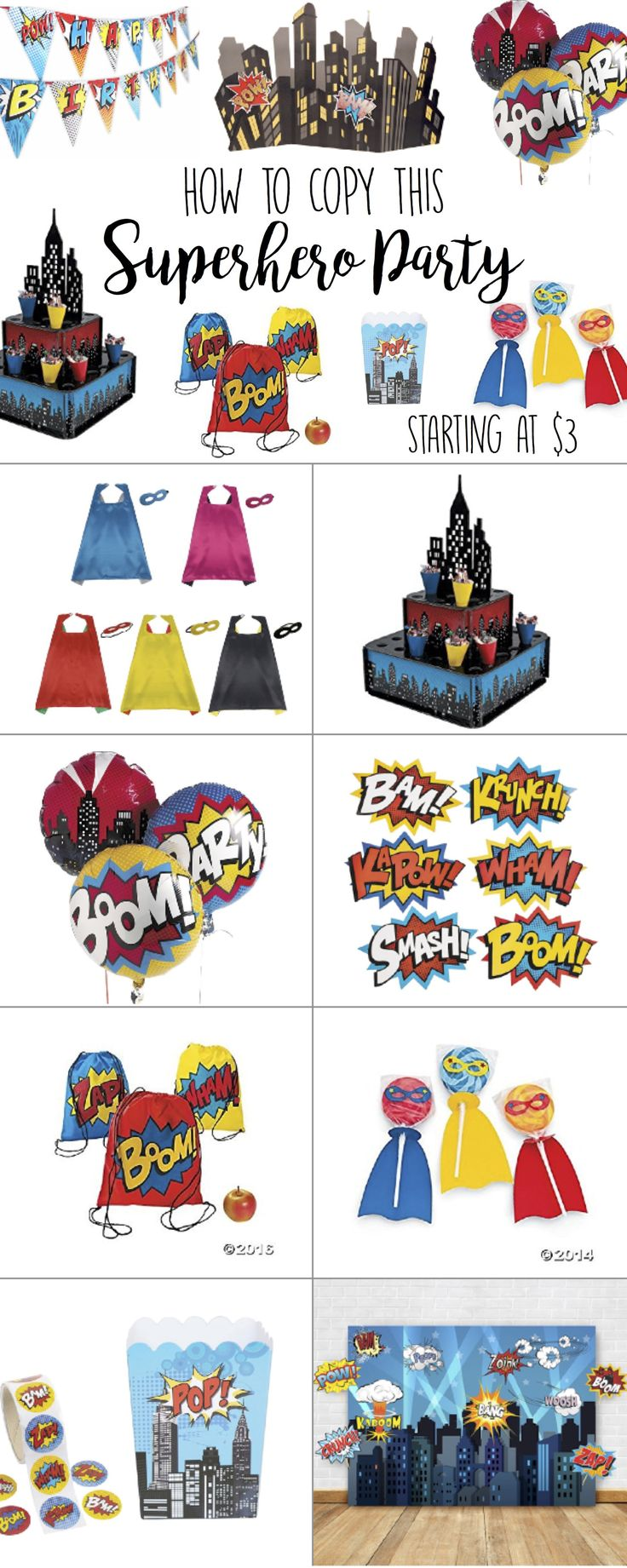 Superhero Birthday Party, Boys, Games, Girly, 1st, Food, Ideas, Decorations, Invitations, Cake, For Girls, DIY, Favors, Centerpiece, Outfit, Activities, Toddler, Goodie Bags, Photo Booth, Backdrop, Table, Cupcakes, Marvel, DC Comics, Crafts, 3 year old birthday party ideas, invites, snacks, treats, signs, unisex, theme, budget, balloons, pow!, banner, drinks, capes, masks, shirt, desserts, lego, generic, princess and, outdoor, comic books, background, wonder woman, superman, batman, coed…