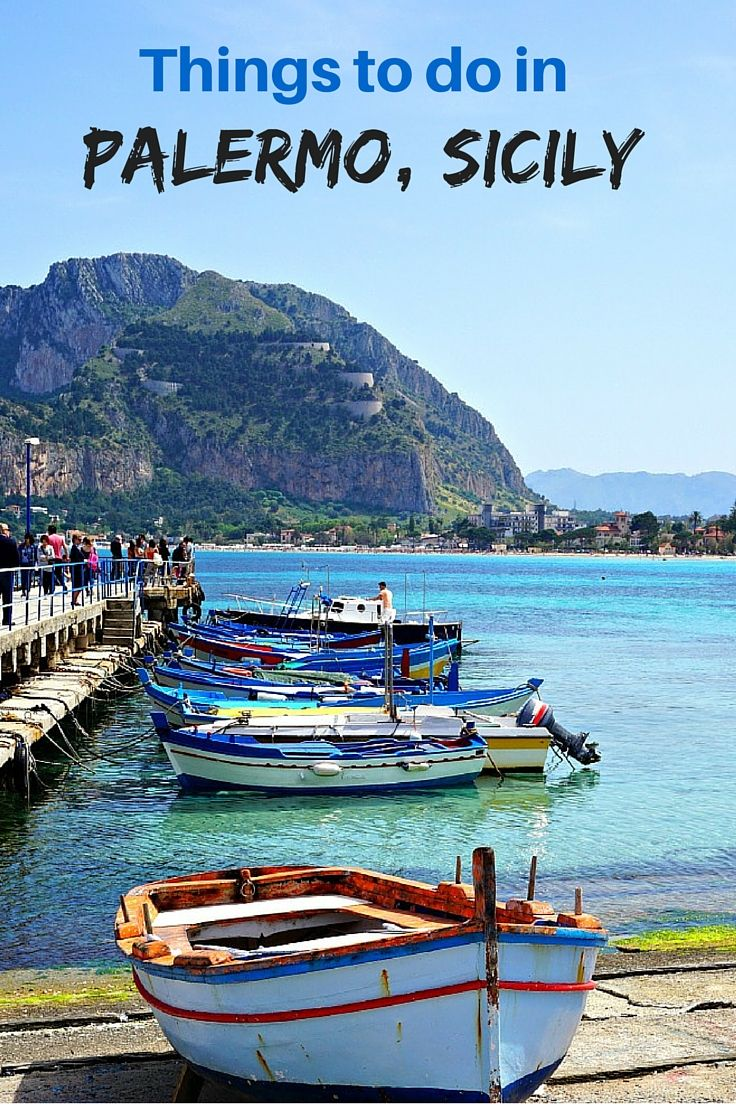 Top things to do in and around Palermo Sicily. From it's beautiful sandy beaches, clear blue water, historic sites and world class food, this Italian city has it all. Click to find out why you should consider a visit. @venturists