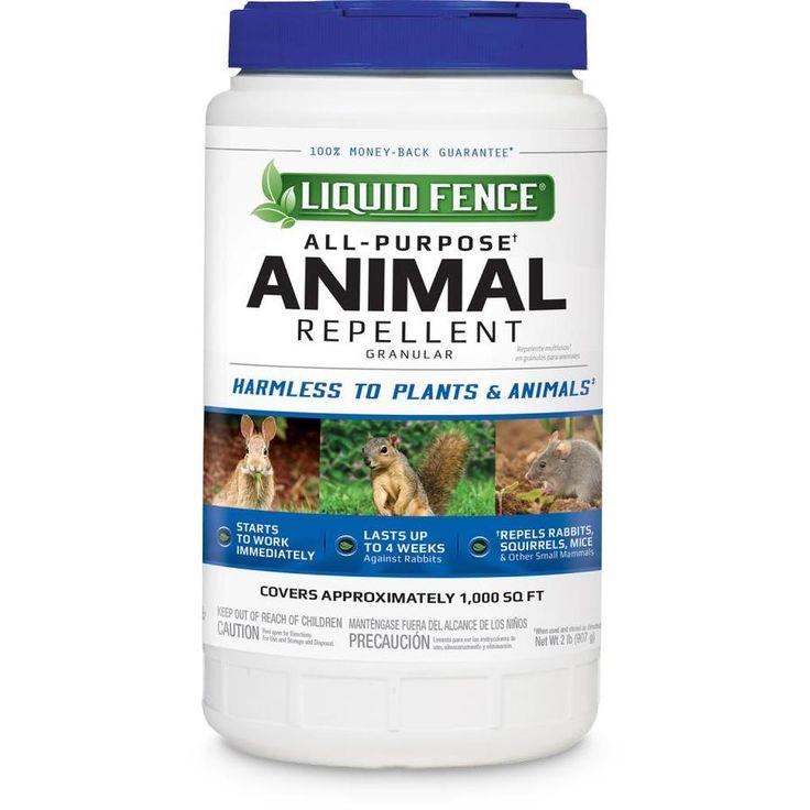 13++ Liquid fence animal repellent ideas