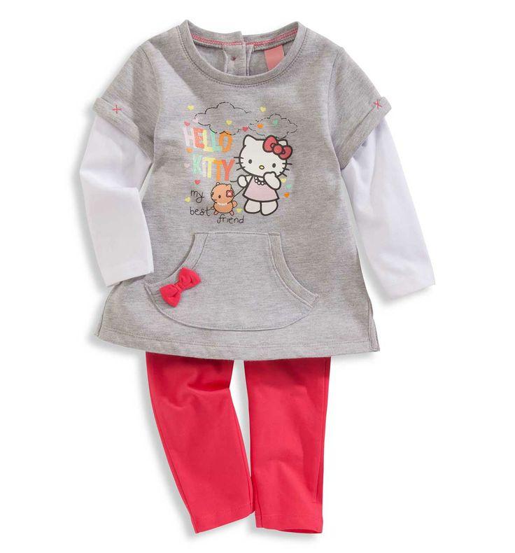 Bebés 0-2 años Conjuntos bebé en gris claro – los mejores precios en C&A