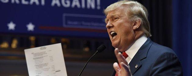 Trump admite haberse beneficiado de forma brillante de la injusta ley fiscal