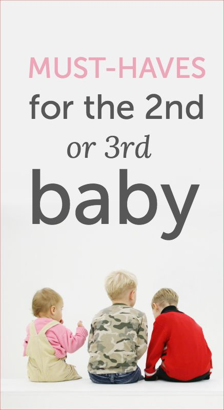 Baby must-haves that will help make life easier when you're dealing with other little ones. More hands would be good. Top of the list of baby must-haves for child number three: more hands. Can someone please get to work on that? #FPinsiders #client